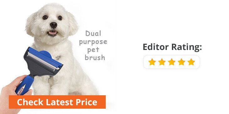 electric dog grooming brush