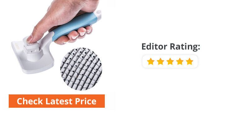 rubber dog grooming brush