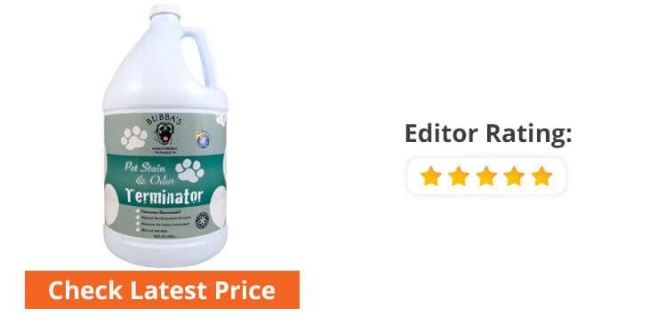 best dog pee carpet cleaner