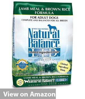 Lamb Meal & Brown Rice Formula