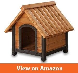Arf Frame Dog House with Dark Fram