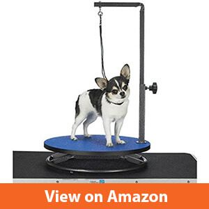 Best small dog and puppy grooming table