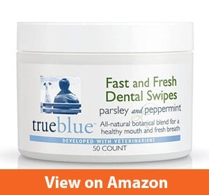 True Blue Dog Dental Wipes