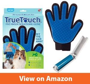 Allstar Innovations True Touch Five Finger Deshedding Glove