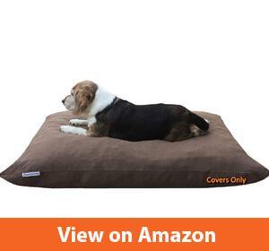Pet Bed Duvet Zipper External Cover + Waterproof Liner Internal Case