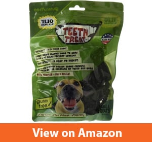 Ilio Dentals Teeth Treat Healthy Dog Dental Treats, Gluten Free