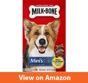 Milk-Bone Mini Flavor Snacks Dog Biscuits, 15 oz