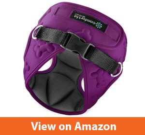 Easy to Put on and Take Off Small Dog Harnesses Our Small Dog Harness Vest has Padded Interior and Exterior Cushioning Ensuring Your Dog is Snug and Comfortable!