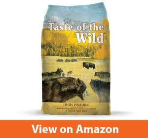 Taste of the Wild Grain-Free High Protein Real Meat Recipe High Prairie Premium Dry Dog Food