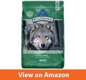 Blue Buffalo Wilderness High Protein Grain Free–Best dog food for golden retrievers