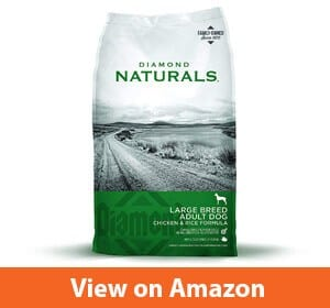 Diamond Naturals Adult Large Breed Real Meat Recipe – Good dog food for golden retrievers