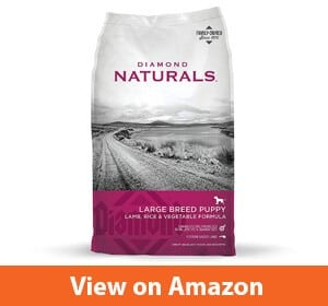 Diamond Naturals Real Meat Recipe – Best dog food for golden retrievers with skin allergies